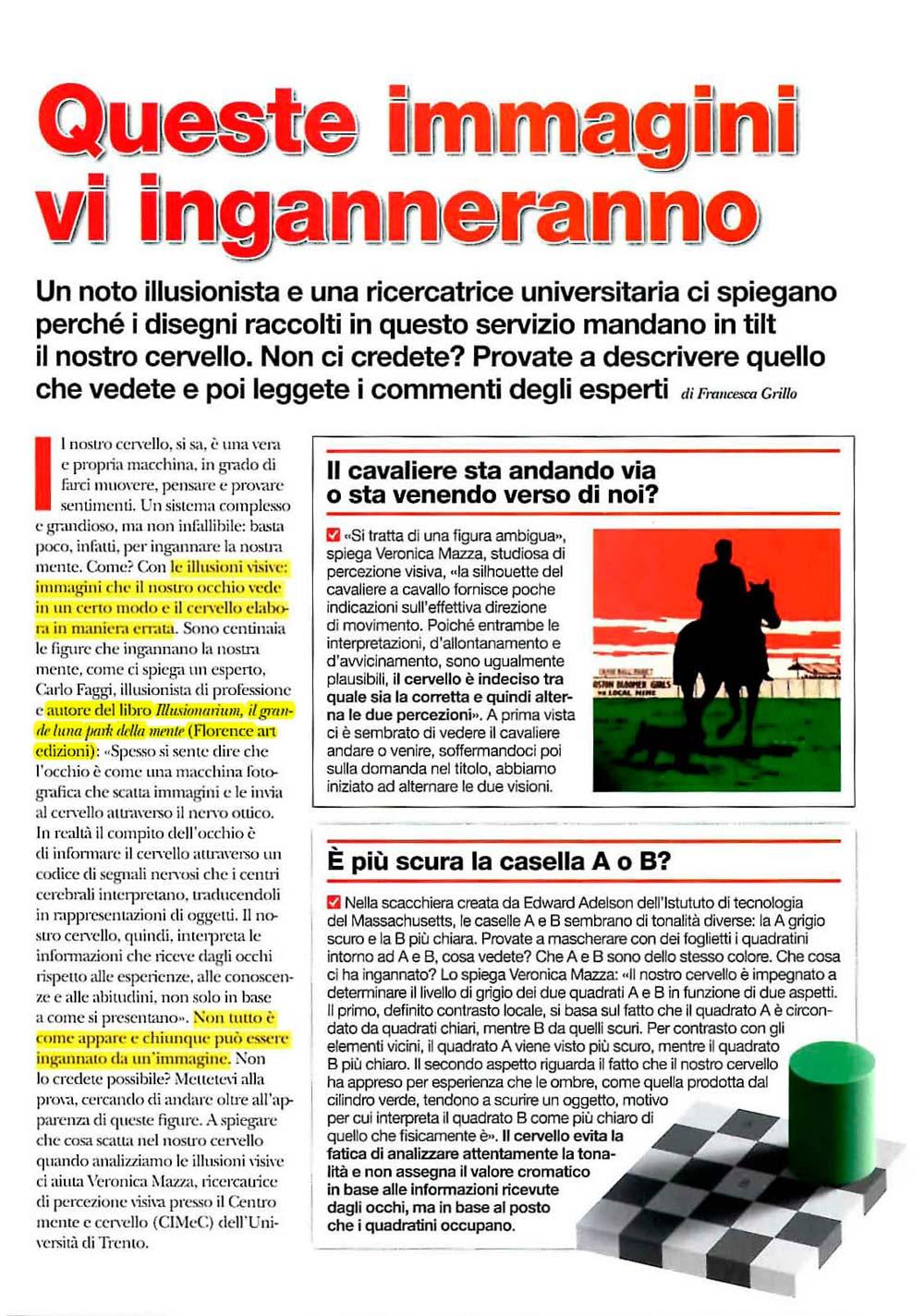 """Rivista """"Airone"""" (marzo 2014)"""