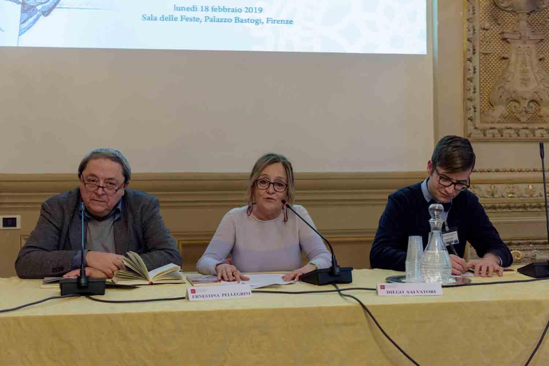 Presentazione del libro su Idolina Landolfi con Marino Biondi, Ernestina Pellegrini e Diego Salvadori
