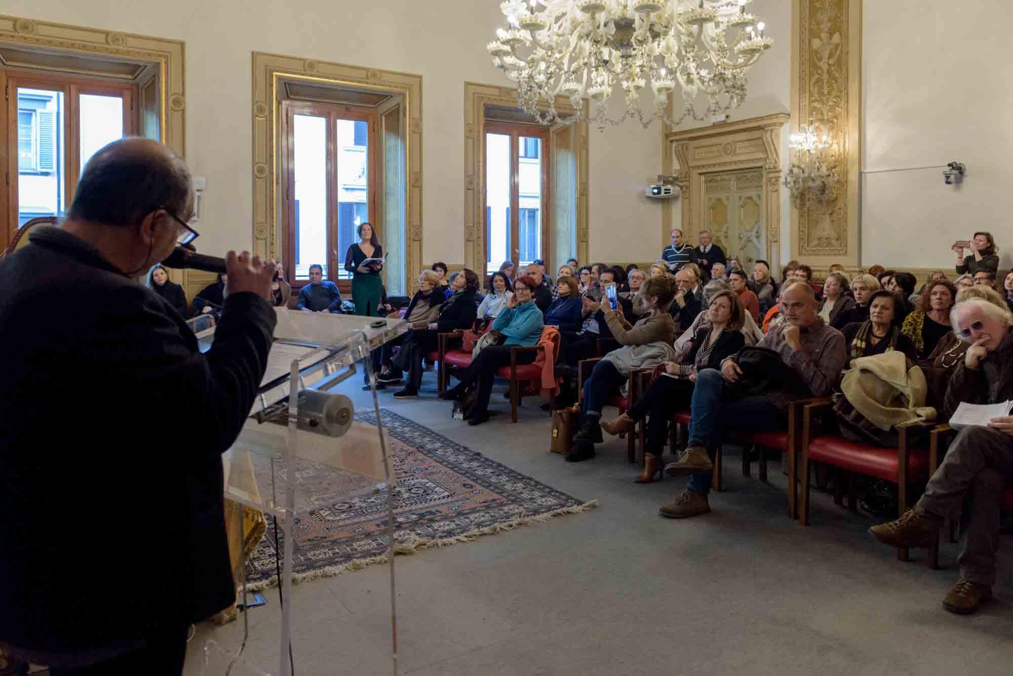 Firenze, Palazzo Bastogi, Idolina Landolfi