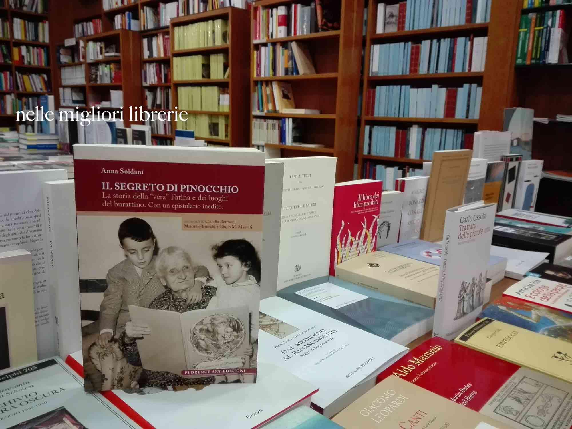 Anna Soldani Il segreto di Pinocchio. La fata turchina e Giovanna Ragionieri