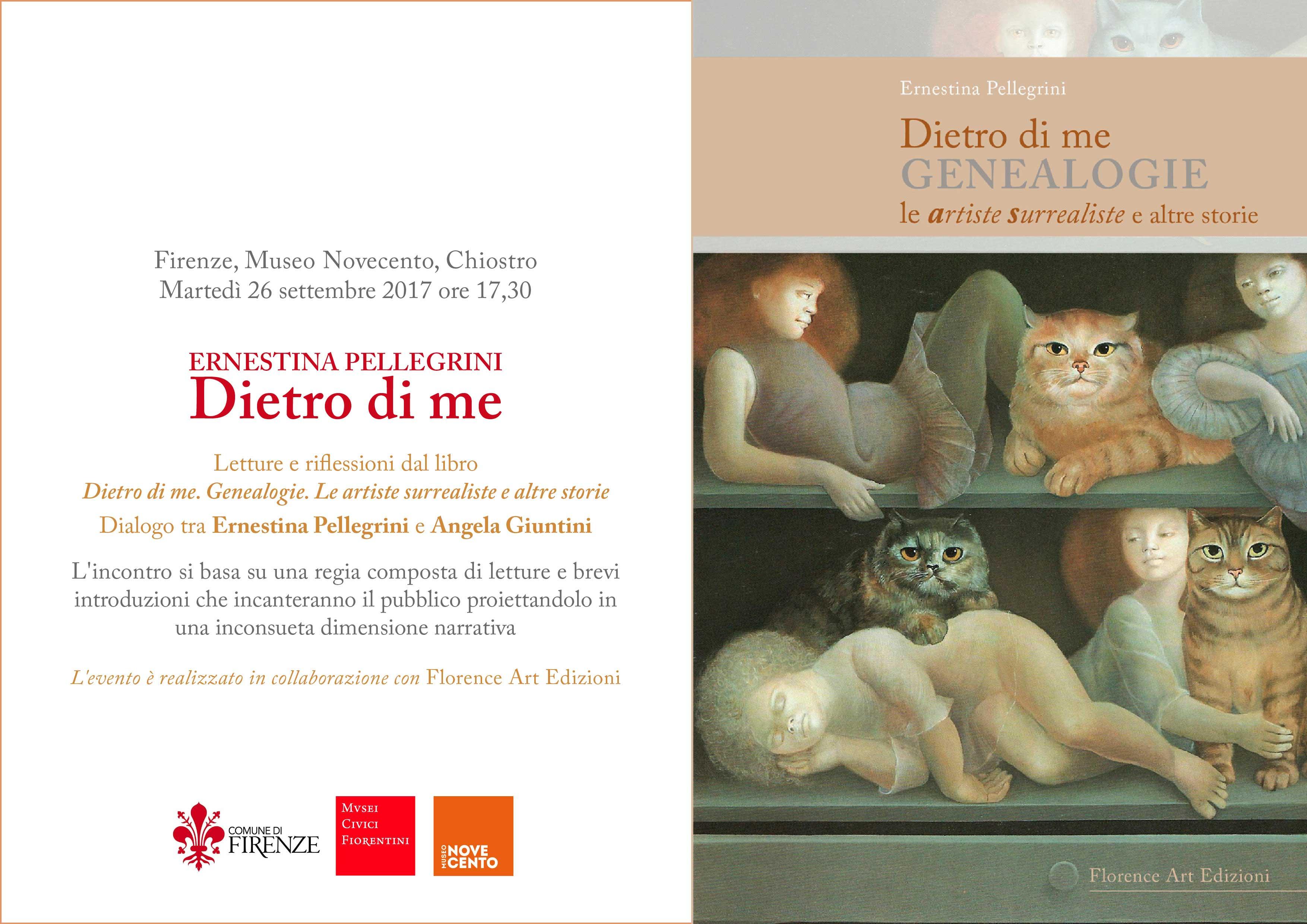 Presentazione Dietro di me al Museo Novecento di Firenze